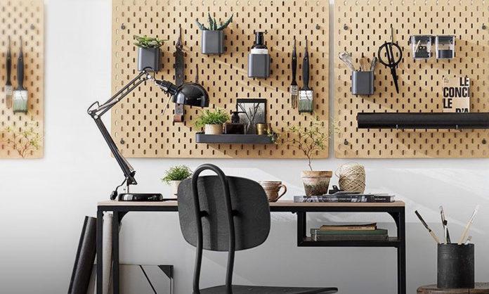 Ikea Skadis çok Amaçlı Panodan Ilham Alın Ev Dekorasyon